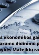 Для Мажейкяй - возможность стать пилотным районом восстановления экономики!