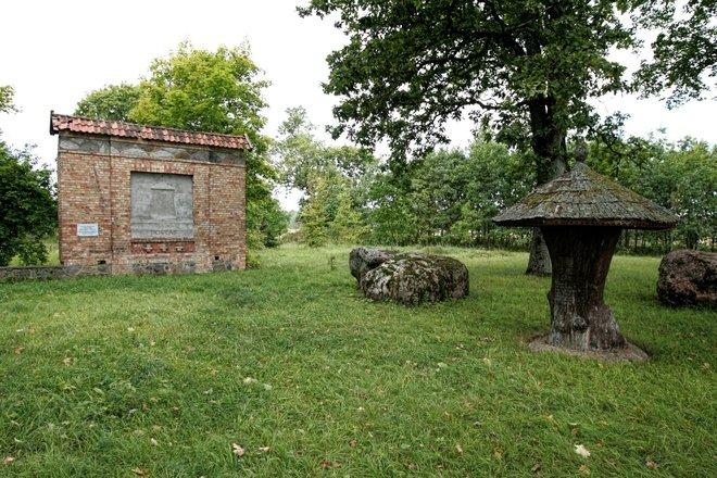 Место рождения Диониса Пошка в Лелайчяй